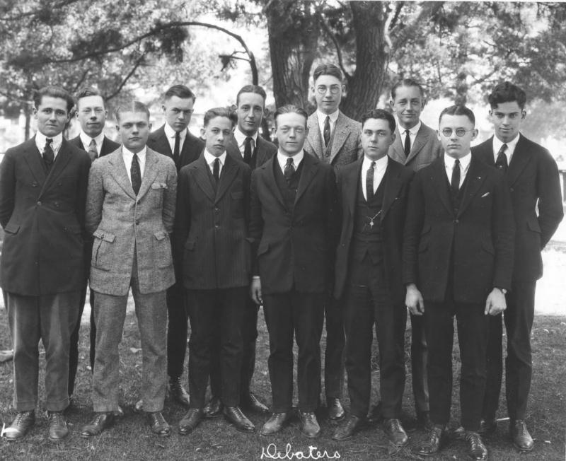 1922 Trojan Debate Squad