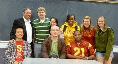 David Damus and the TDS Squad at the 2010 Trojan Championships