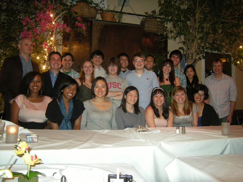 The TDS at the 2011 End of the Year dinner